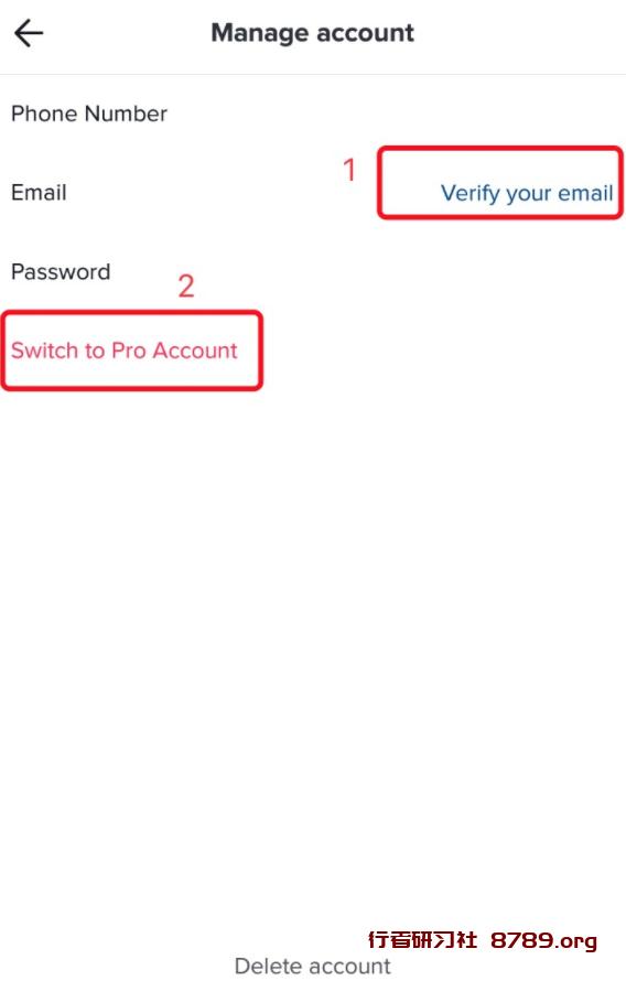 TikTok账号类型切换教程及后台的区别